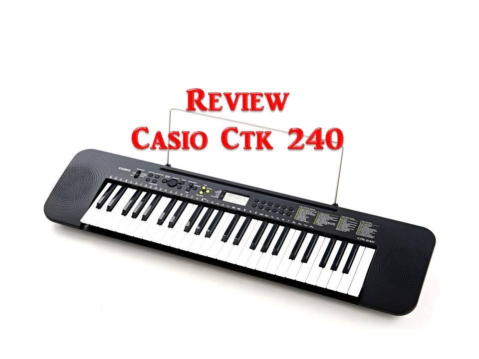 f24cf33718f Review Casio Ctk 240 - Gabriel de Aquino - YouTube