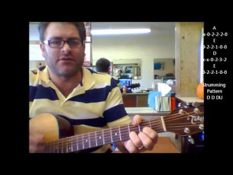How to play Hanukkah Song  Adam Sandler on acoustic guitar