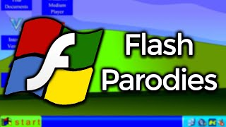 Exploring Windows Flash Parodies (Windows RG & XP 19.914)