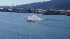 Portland Fire Boat on Memorial Weekend (Downtown Portland)