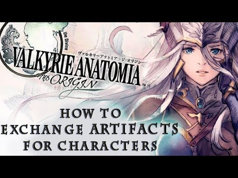 HOW TO - Exchange Artifacts For Characters - Valkyrie Anatomia