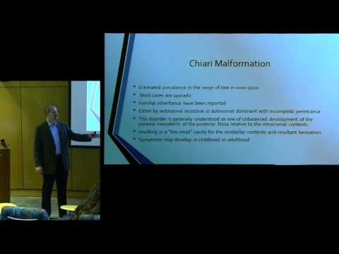 "CSF presents ""Complex Chiari Malformations and Connective Tissue Disorders"" - Dr. Ian Heger"