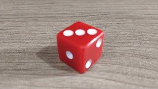 Редкий фокус с игральным кубиком