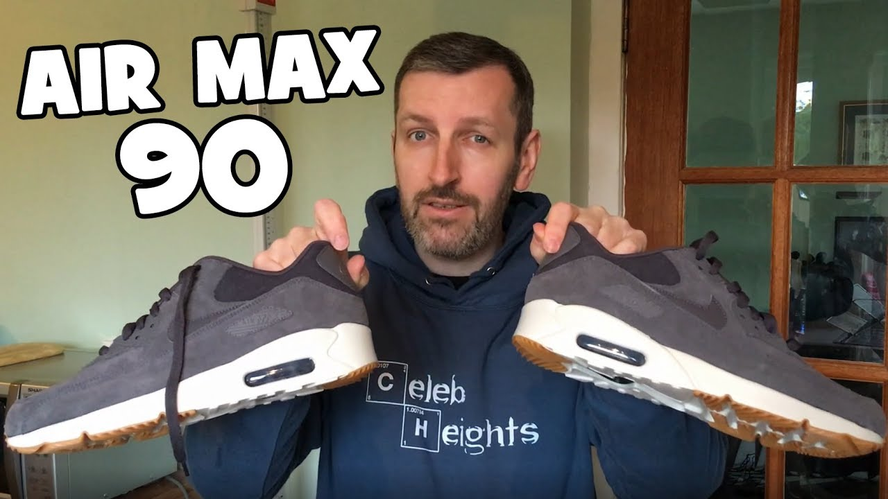 How much Height do Nike Air Max 90 add?