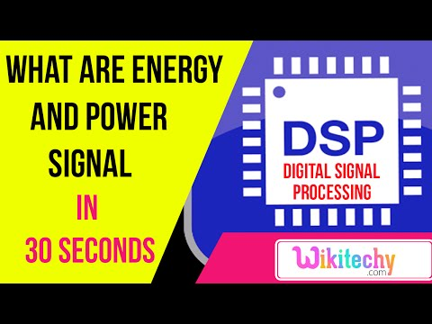 What are energy and power signal | DSP interview questions and answers | ece interview questions