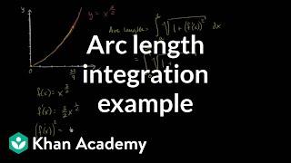 Arc length integration ex le