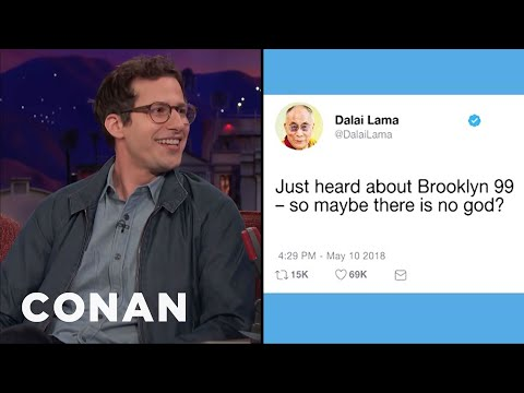 Andy Samberg: The Dalai Lama Tweeted His Support For