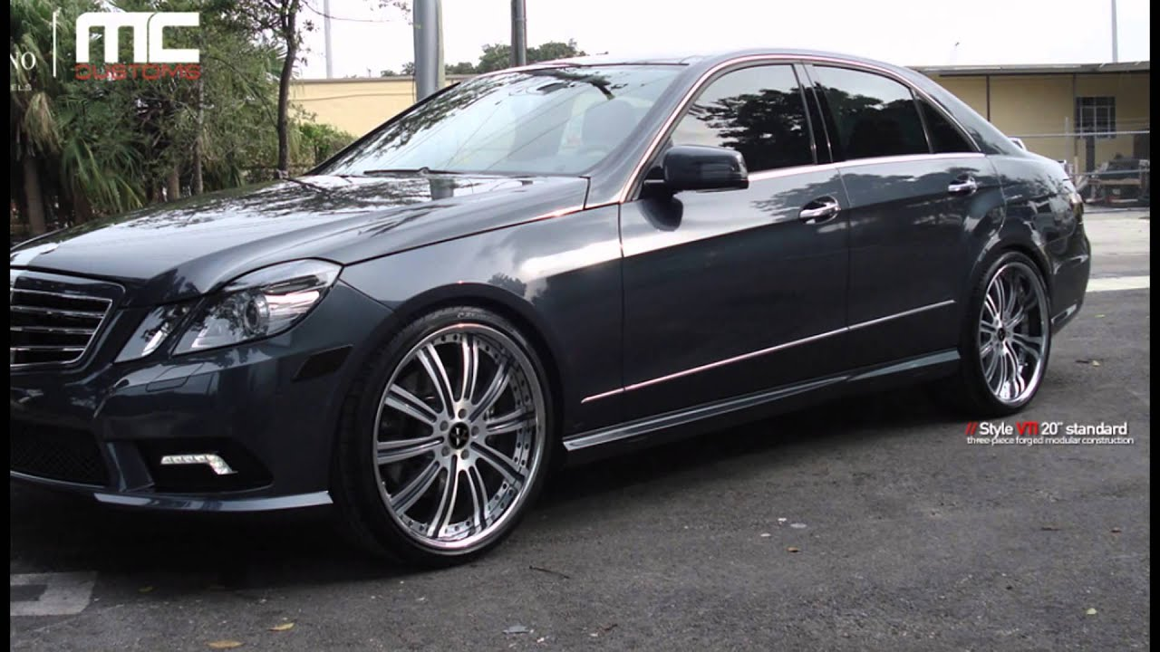 mercedes benz e class custom w212 50 different looks for your rod youtube. Black Bedroom Furniture Sets. Home Design Ideas