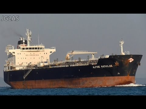 M/T ALPINE MATHILDE オイル・ケミカルタンカー Oil / Chemical tanker 2017-JAN