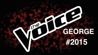 "Johnny Hallyday - Laura (George Voice) ""The Voice 4"""