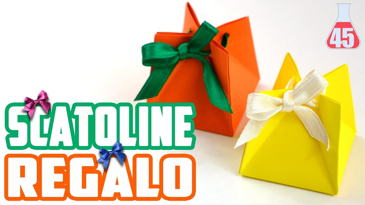 Come fare scatoline regalo scatoline di carta fai da te for Impermeabile per cani fai da te