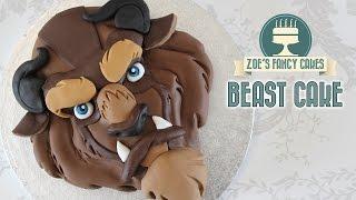 Beast cake Beauty and the Beast Disney cakes
