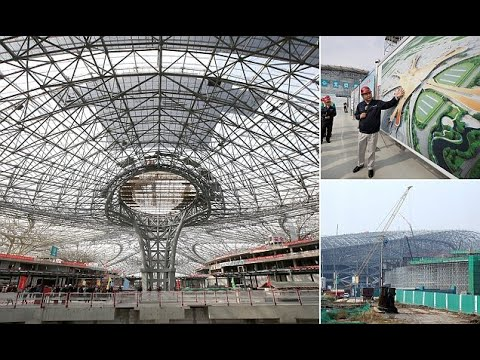 New pictures of Beijing's £9BILLION mega-airport  - Travel Guide vs Booking