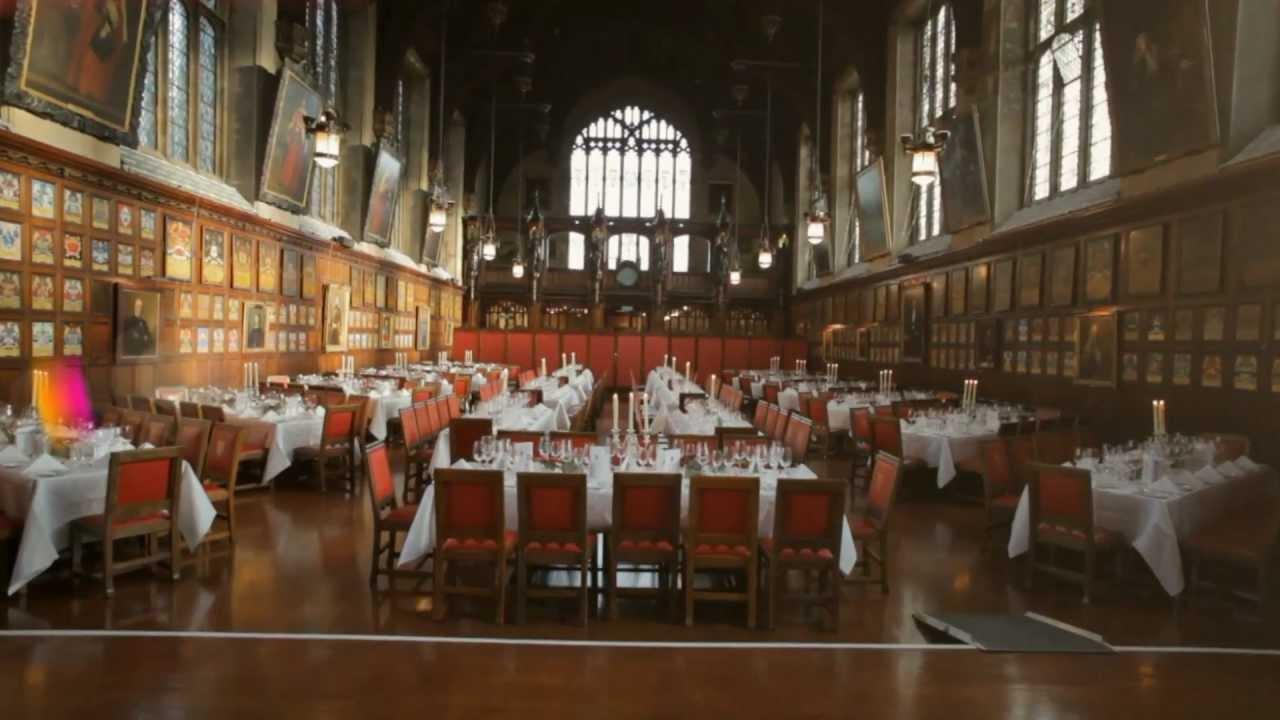 Lincoln's Inn - The Great Hall - YouTube