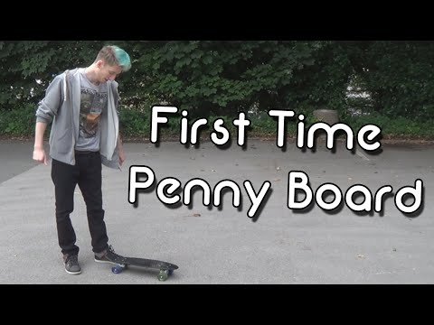 Learning To Penny Board