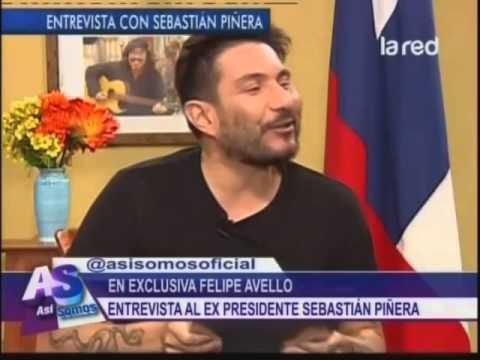 Felipe Avello entrevista al ex Presidente Sebastián Piñera