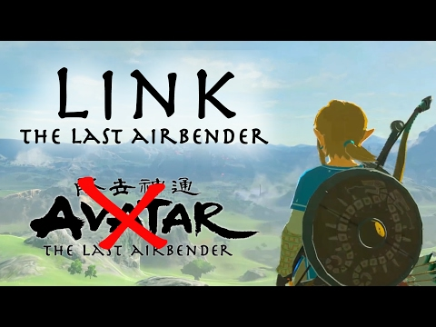LINK THE LAST AIRBENDER - Avatar X Zelda spoof