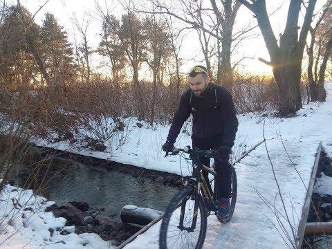 Велосипед зимой. Да или нет?