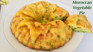 How to make Maakuda Moroccan style vegetable pie - tutorial recipe gluten free