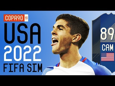 How Good Pulisic & The USMNT Will Be at 2022 World Cup - FIFA 18 SIM | Ep. 6
