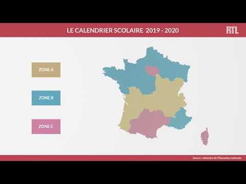 Découvrez Le Calendrier Des Vacances Scolaires 2019-2020
