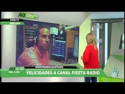 15 años de Canal Fiesta Radio. Más felicitaciones desde Andalucía Directo