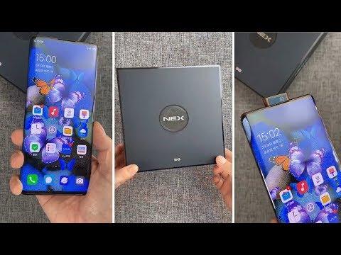 vivo NEX 3S '5G' UNBOXING - NEX 3S Hands On First Look