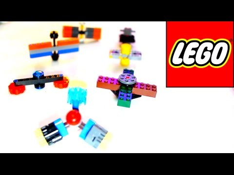 Thumbnail: 7 DIY LEGO Hand Spinner Fidget Toys! How to make Spinners!