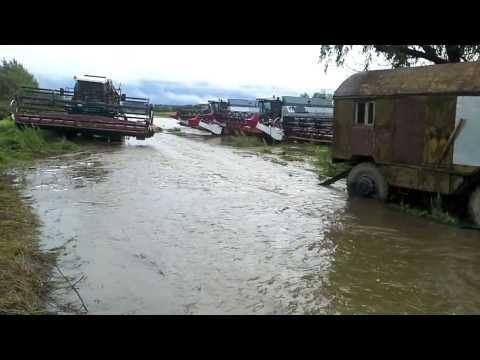 Наводнение Амурская область Завитинский район