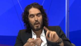 Russell Brand & Nigel Farage clash over immigration Thumbnail