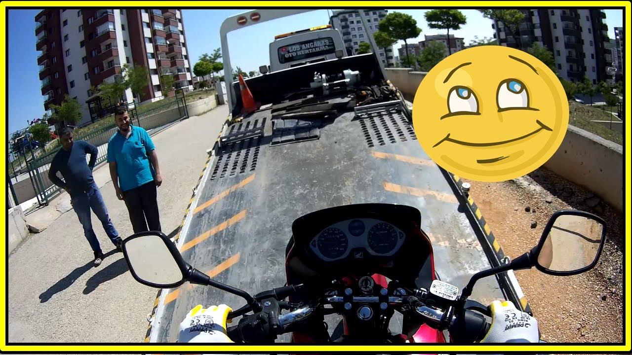 Ara Sırada Motosiklet Çekelim / Genç Takipcilerimi Öpmüşler