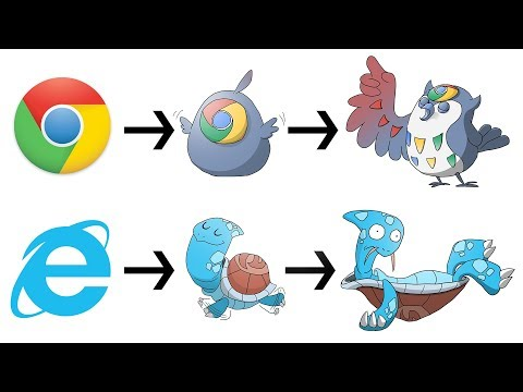 What If Famous Logos Were Pokemon Evolutions ? (All Logos)