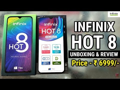 Infinix Hot 8 Unboxing And Review | Camera Samples | New Phone | 64GB Phone Under 7000 | HINDI