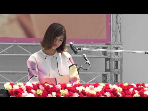 西内まりや  新曲  ありがとうForever...(アクシデントあり) / 2015.05.02 1300 ラゾーナ川崎