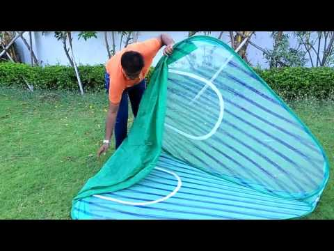 pop up tent video instructions