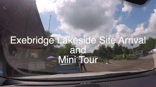 Exebridge Lakeside Caravan and Motorhome Club Site - Site Arrival and Mini Tour