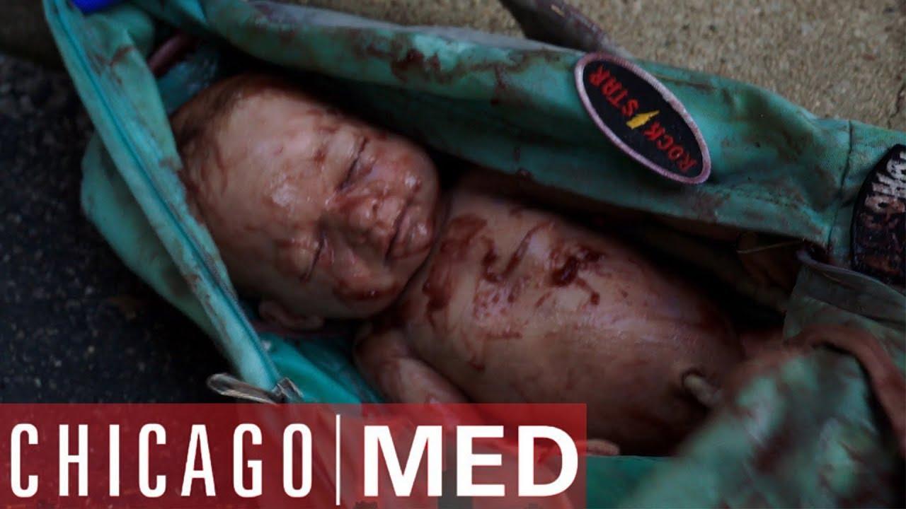 Download Dr Rhodes Finds A Baby In A Backpack | Chicago Med