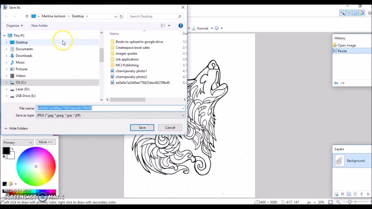 How To Create An Adult Coloring Book Using Google Slides Upload Createspace