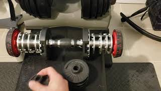Bowflex Selecttech 552 safety issues - permanent fix