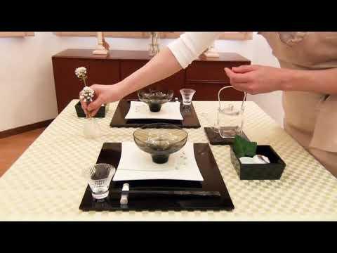 日本酒を愉しむテーブル