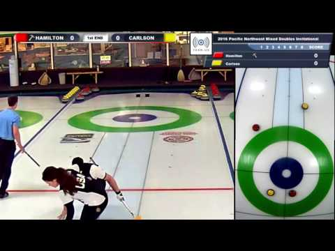 Curling Champions Tour, PNW Mixed Doubles, Tiebreaker, Hamil