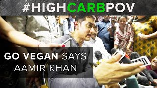 GO VEGAN says Bollywood Superstar | Aamir Khan
