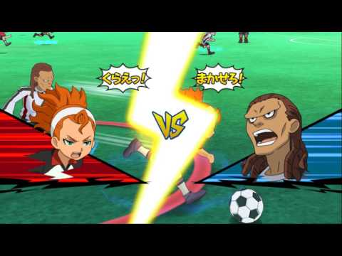 Inazuma Eleven GO Strikers 2013 Resistance Japan vs Neo Japan