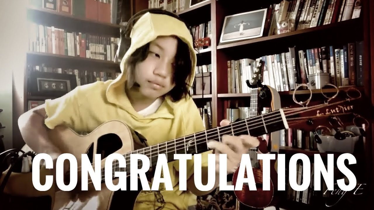 Congratulations/Post Malone ft. Quavo, covered by Feng E, guitar fingerstyle