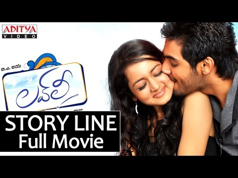 Lovely Story Line Full Movie - Aadi & Shanvi