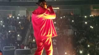 Kendrick Lamar performs LOVE. live @ The DAMN. Tour @ SAP Center, San Jose, CA.