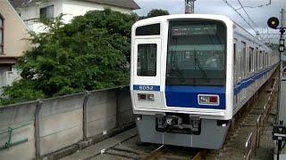 西武6050系6152F急行和光市行き 東横線多摩川駅発車