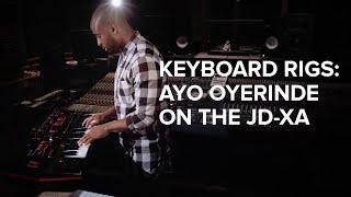 Keyboard Rigs: Ayo Oyerinde (Jessie J) on the Roland JD-XA