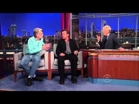 John Mellencamp and Stephen King on David Letterman Full Interview