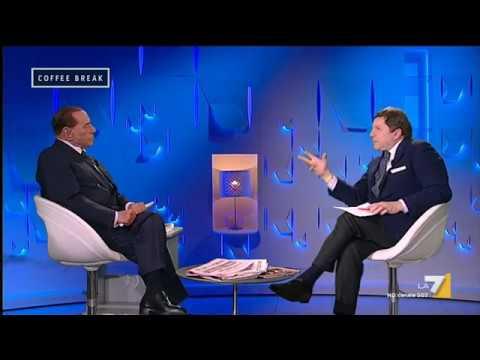 Intervista a Silvio Berlusconi su prossime elezioni, reddito di dignità, M5S ed Europa